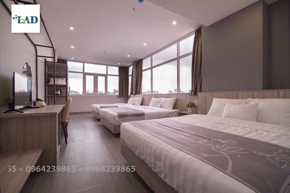Đệm khách sạn màu trắng được chọn nhiều nhất